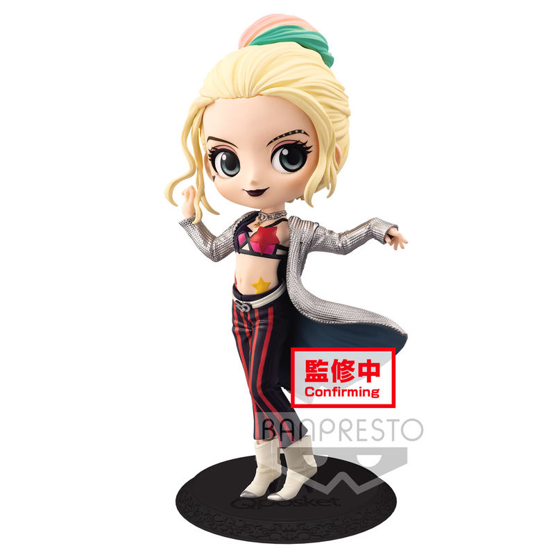 Dc Comics Birds Of Prey Harley Quinn Q Posket A Figure 14cm