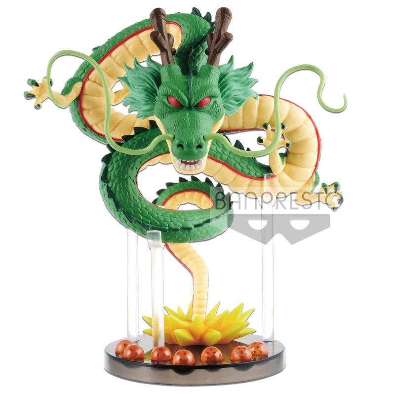 Figura World Collectable Mega Shenron & Dragon Balls Dragon Ball Z 14cm