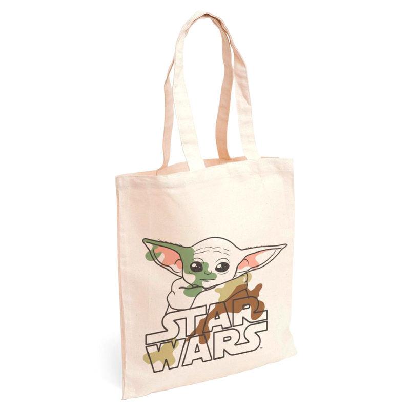 Bolso shopping tela Yoda Child The Mandalorian Star Wars 8427934485970