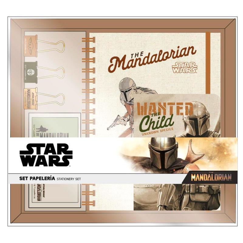 Set papeleria Yoda Child The Mandalorian Star Wars 8427934487592