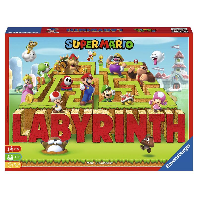 Juego mesa Labyrinth Super Mario Nintendo 4005556260638