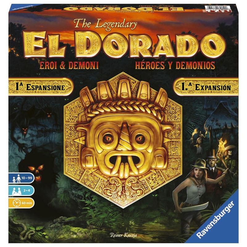 Juego mesa El Dorado Heroes y Demonios 4005556268559