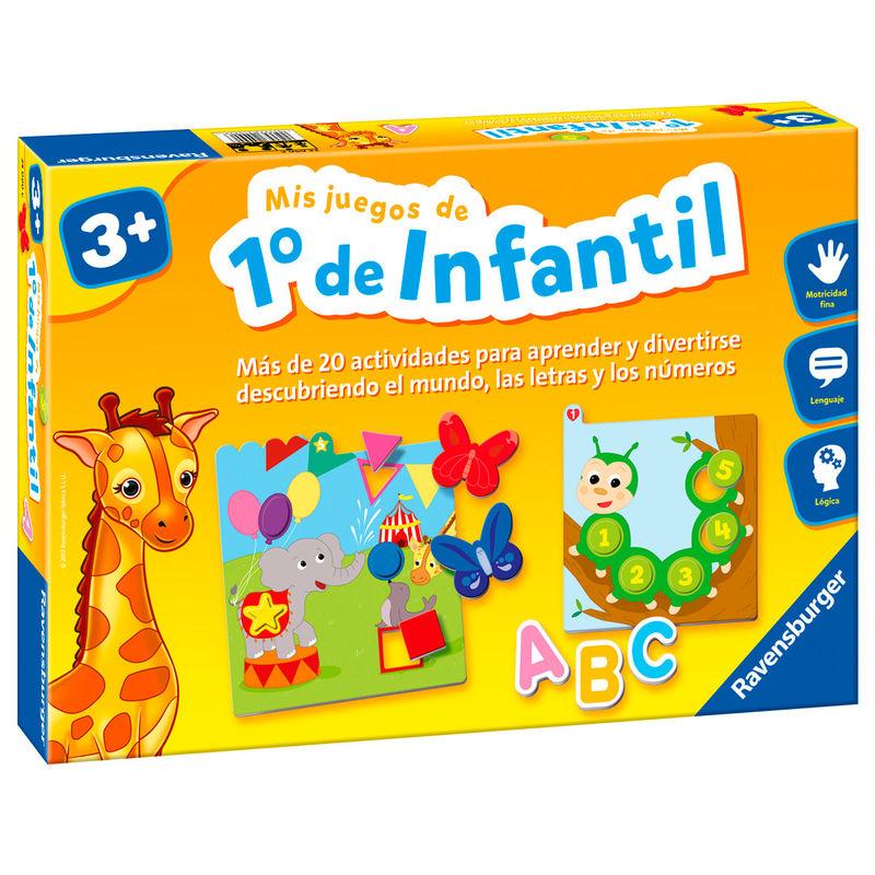 Juego Montessori Mis Juegos de 1 Infantil 4005556240906