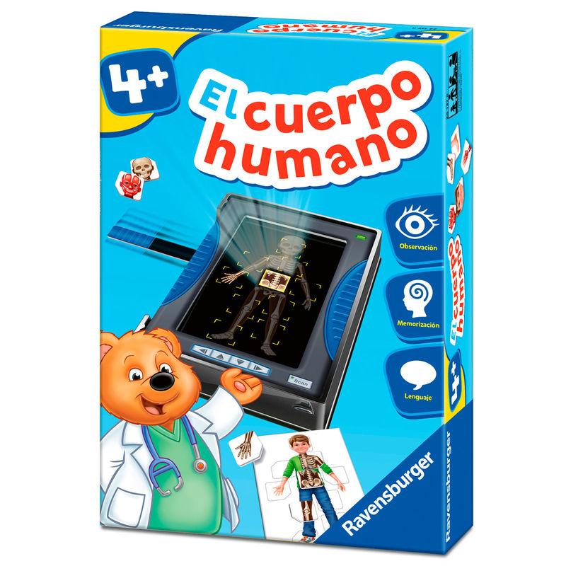 Juego Montessori El Cuerpo Humano 4005556241378