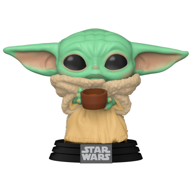 Funko POP Star Wars Mandalorian The Child with Cup 889698499330
