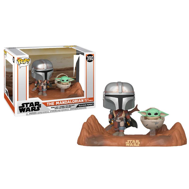 Funko POP o Figura POP Star Wars Mandalorian - Mandalorian y Baby Yoda