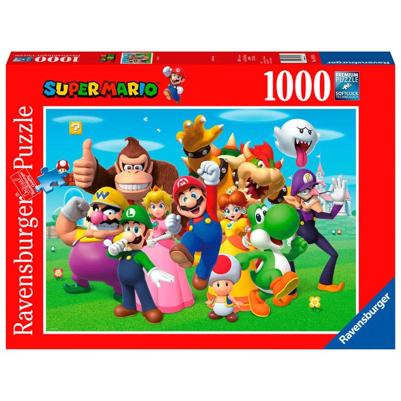 Puzzle Super Mario Nintendo 1000pz 4005556149704