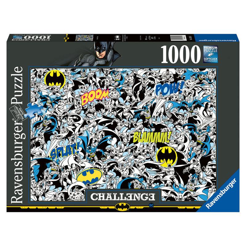 Puzzle Challenge Batman DC Comics 1000pz 4005556165131