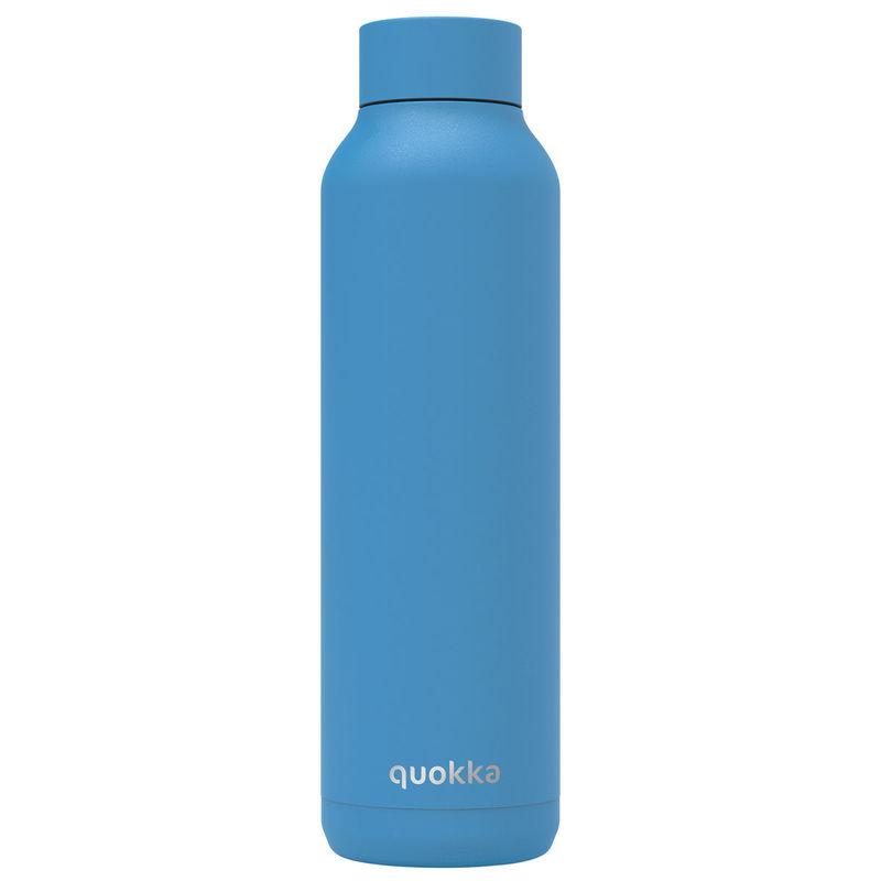 Botella Solid Bright Blue Powder Quokka 630ml 8412497118618
