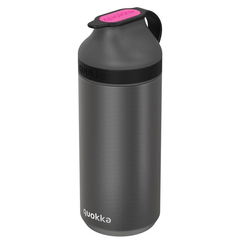 Botella Mineral Steel Pink Fluorite Quokka 335ml 8412497403004