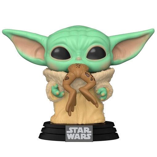 Funko POP Star Wars Mandalorian Baby Yoda (The Child) con rana (2)