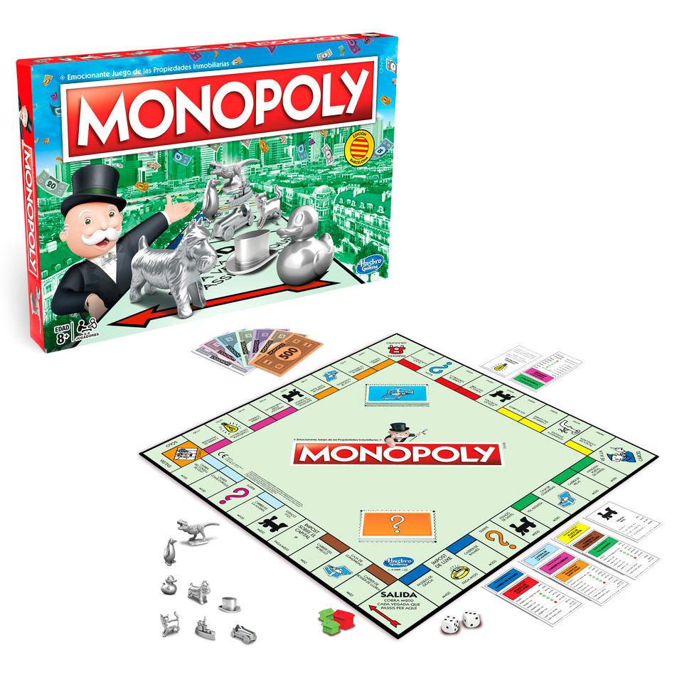 Juego Monopoly Clasico Edición Barcelona 5010993438754