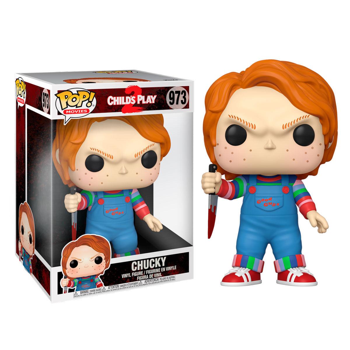 Funko POP o Figura POP Chucky con cuchillo 25cm