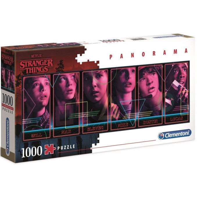 Puzzle Panorama Stranger Things 1000pz 8005125395484