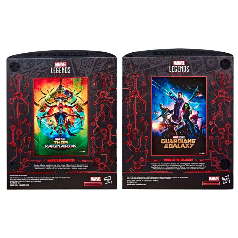 Pack 2 figuras Grandmaster + The Collector Marvel Legends
