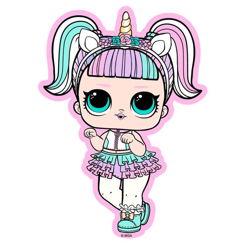 Toalla Unicorn LOL Surprise microfibra 5908213372974