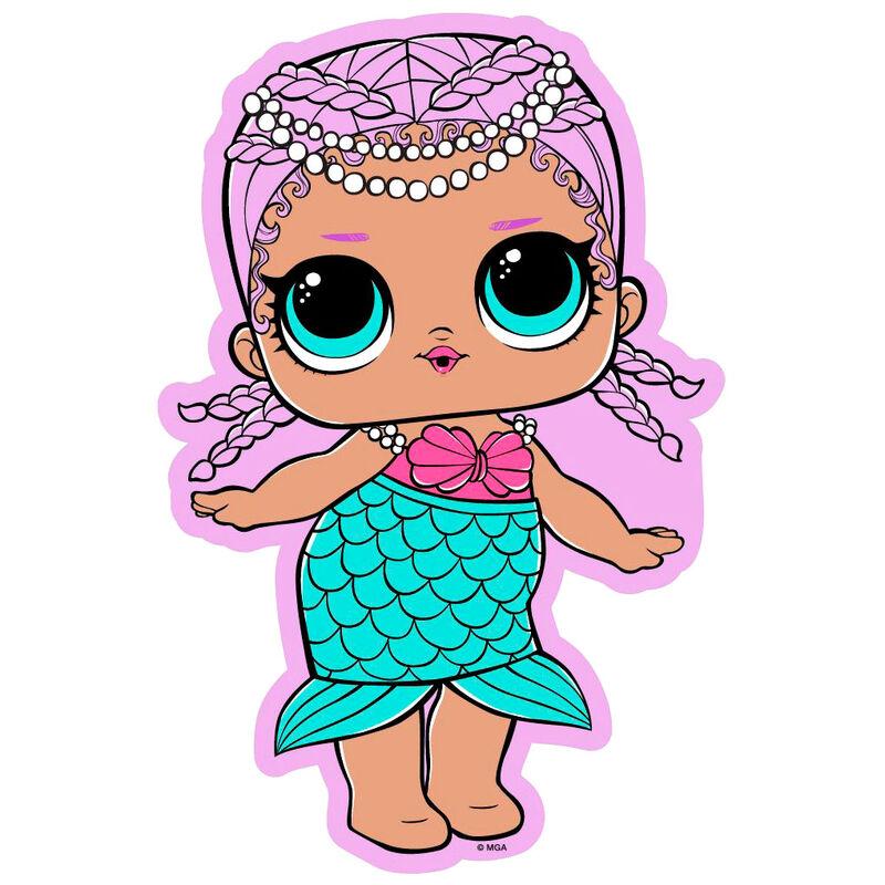 Toalla Sirena LOL Surprise microfibra 5908213372950
