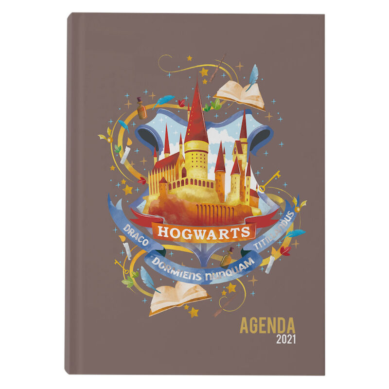 Agenda 2021 Hogwarts Harry Potter