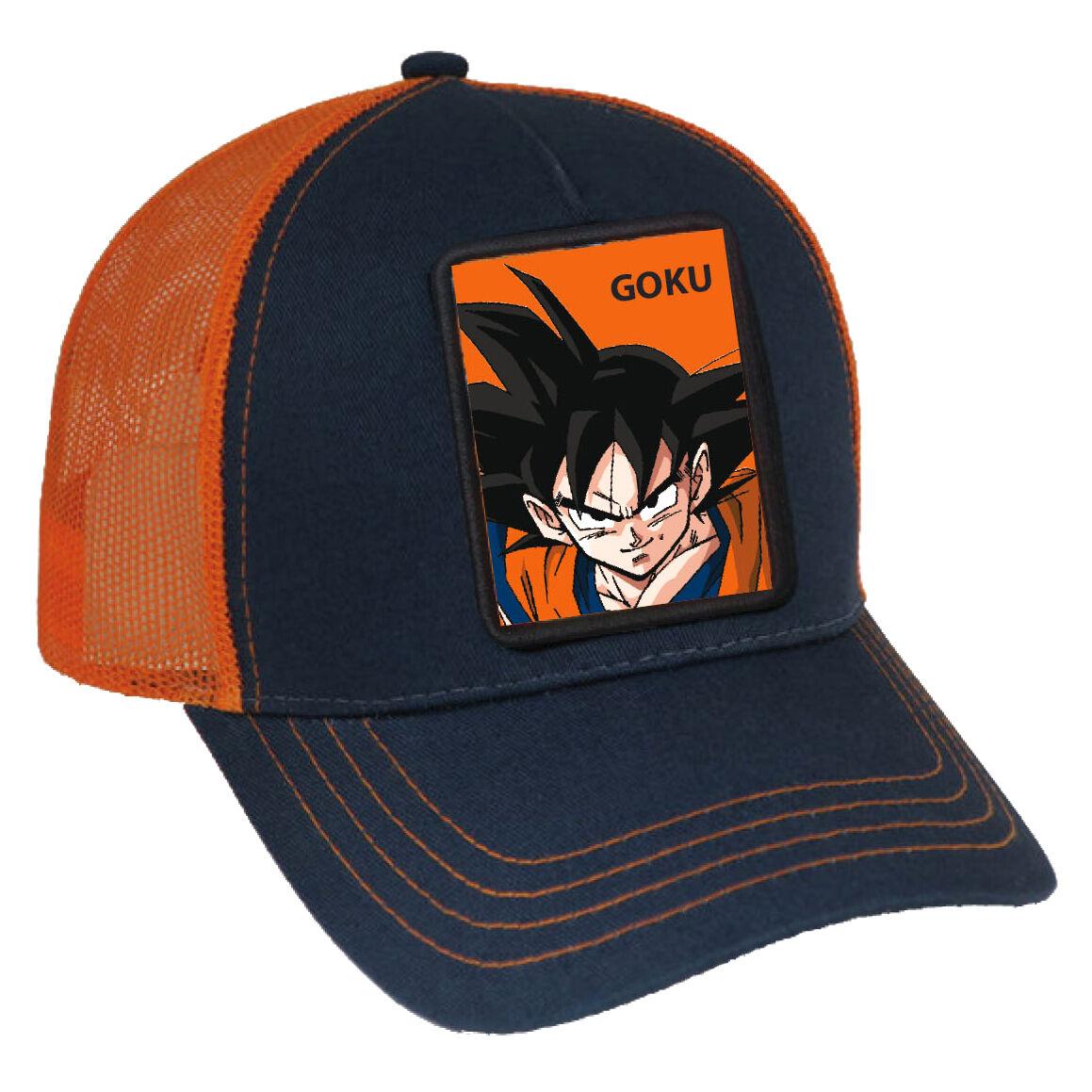 Gorra Goku Trucker Dragon Ball adulto 8435073732114