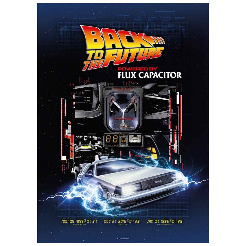 Puzzle Powered by Flux Capacitor Regreso al Futuro 1000pzs 8435450243448