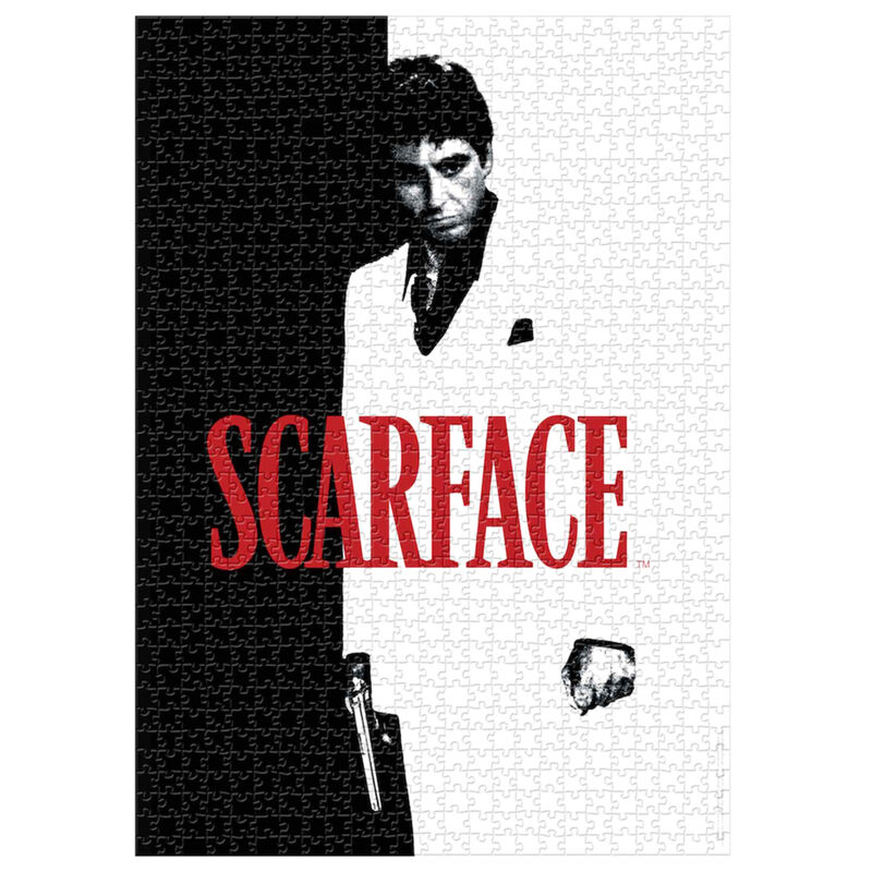 Puzzle Poster The World is Yours Scarface 1000pzs 8435450243554