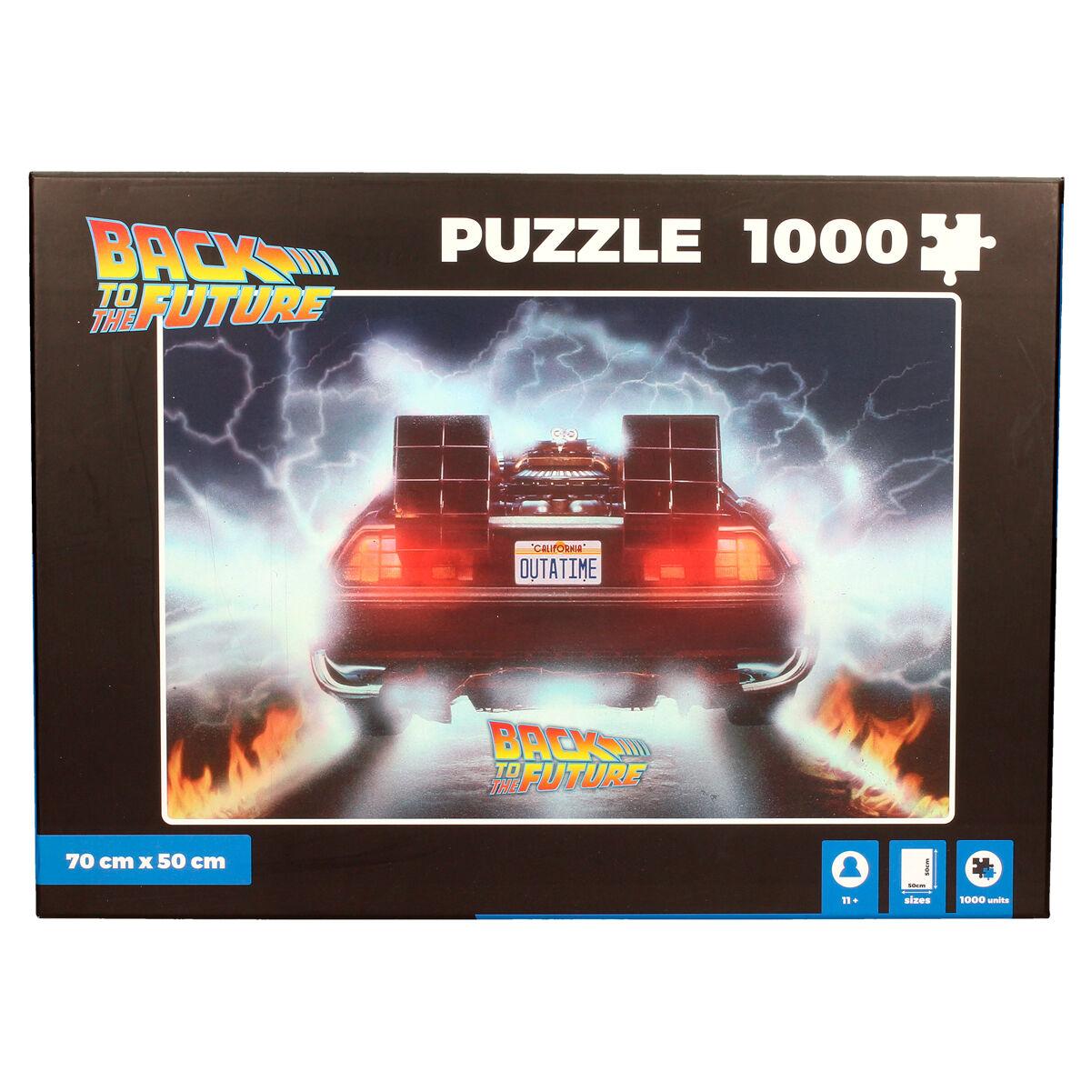 Puzzle Delorean Out a Time Regreso al Futuro 1000pzs 8435450223235