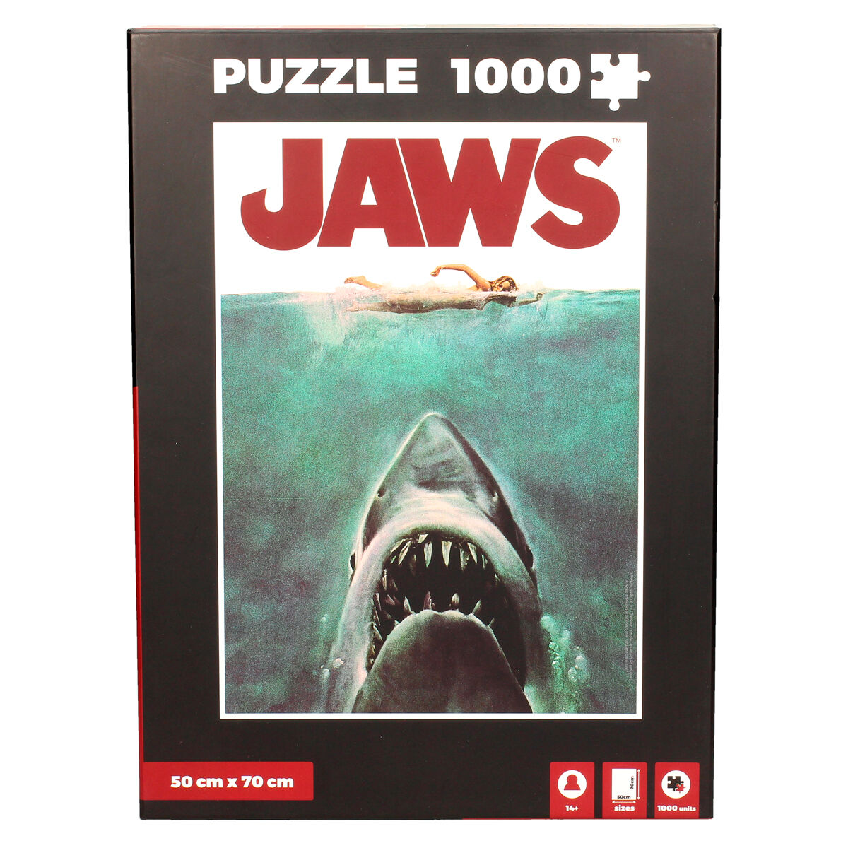 Puzzle Poster Tiburon 1000pzs 8435450223860