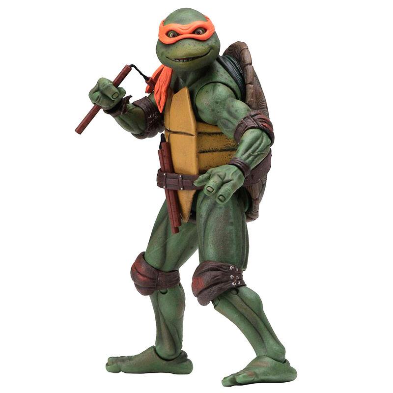Figura Michelangelo Movie 1990 Tortugas Ninja 18cm 634482540749