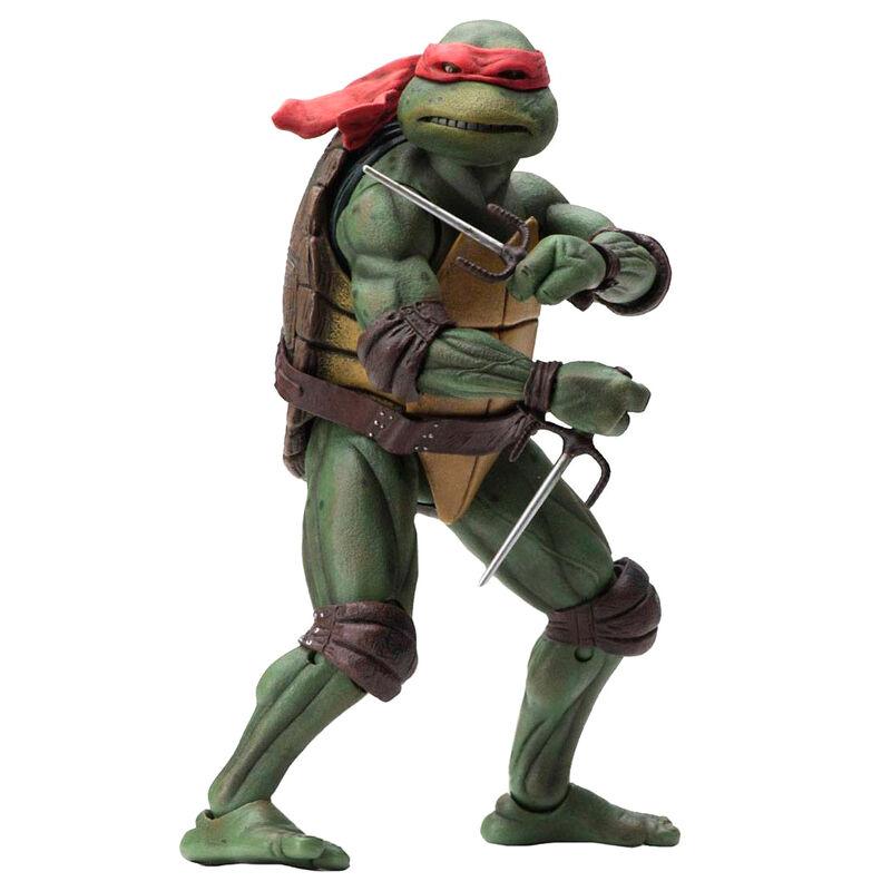 Figura Raphael Movie 1990 Tortugas Ninja 18cm 634482540756