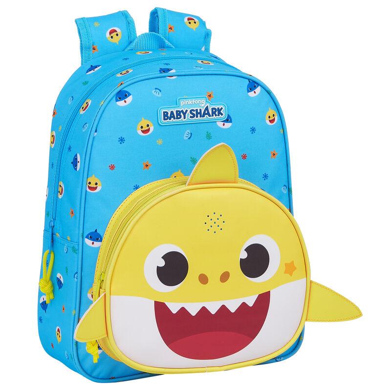 Mochila musical Baby Shark 33cm 8412688381715