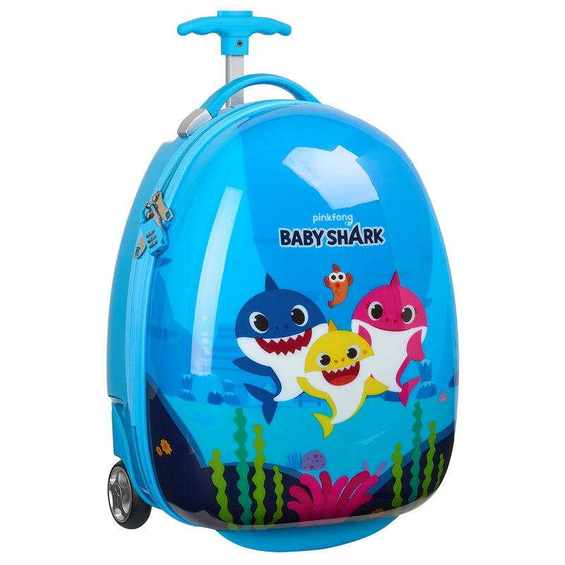 Maleta trolley ABS Baby Shark 43cm 8412688388585