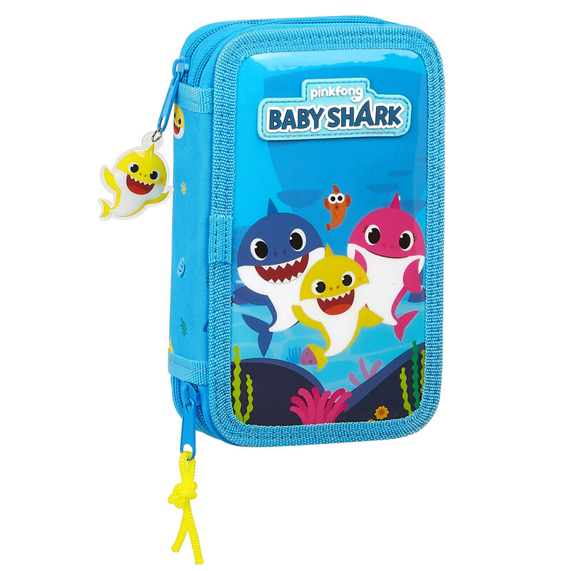 Plumier Baby Shark doble 28pzs 8412688381661