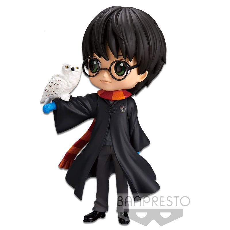 Figura Harry with Hedwig Harry Potter Q Posket 14cm By Banpresto