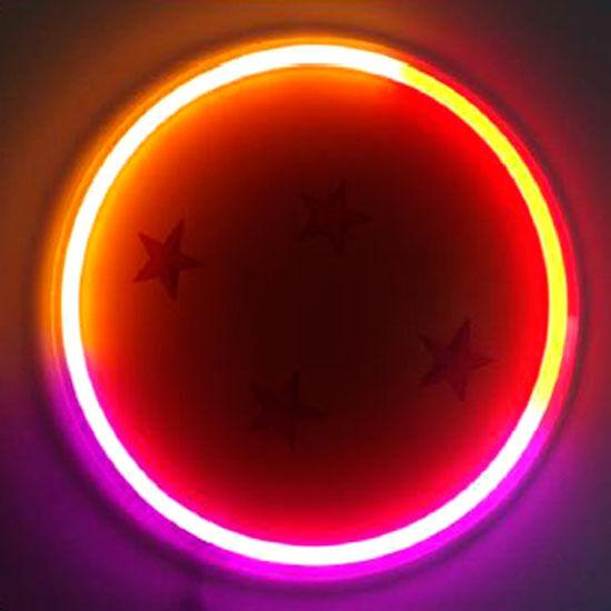 Lampara mural neon Bola de Dragon Dragon Ball Z