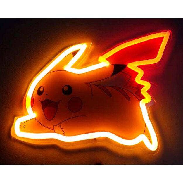 Lampara mural neon Pikachu Pokemon