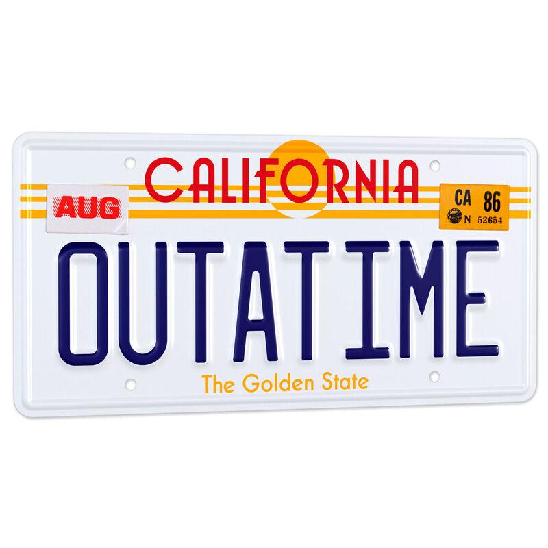 Replica matricula DeLorean Outatime Regreso al Futuro 8437017951285