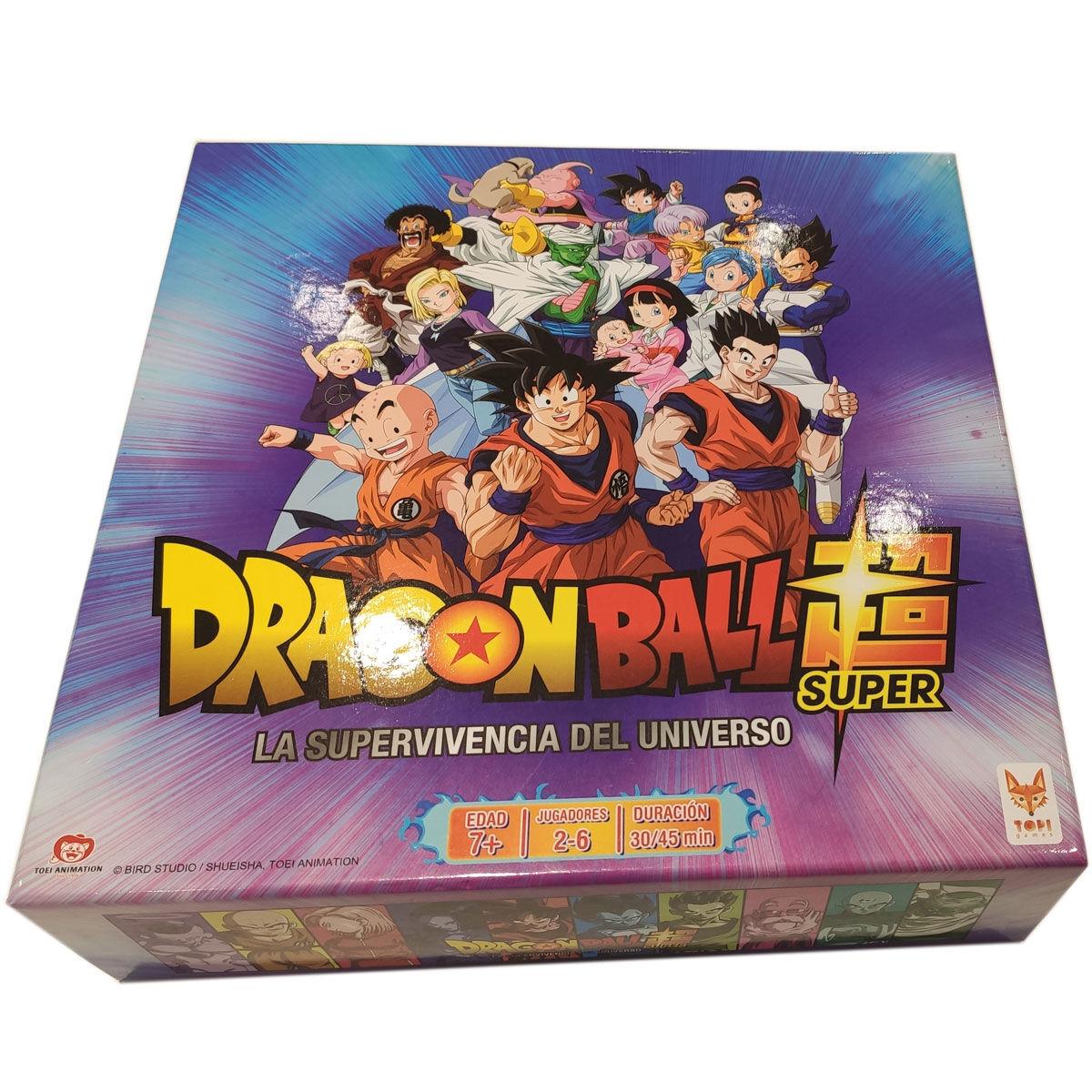 Juego mesa Dragon Ball Super español By Banpresto