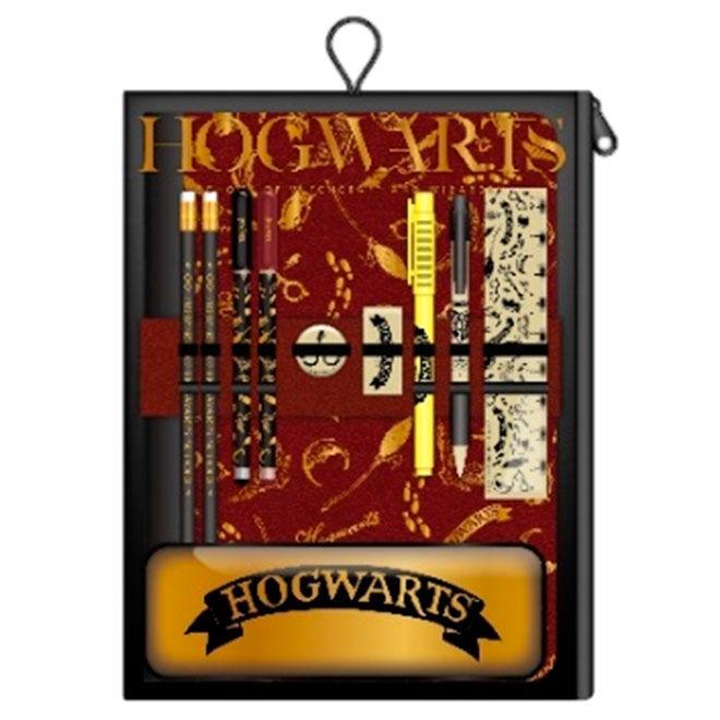 Set papeleria Hogwarts Harry Potter