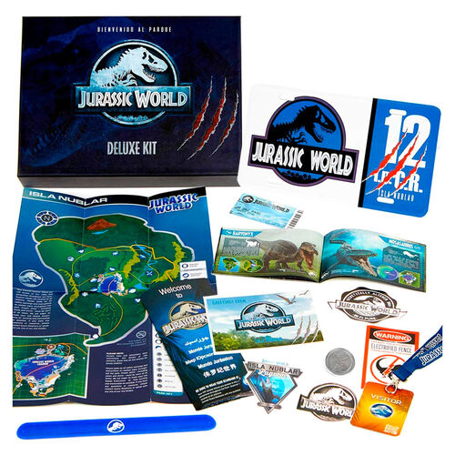 Kit Deluxe Jurassic World