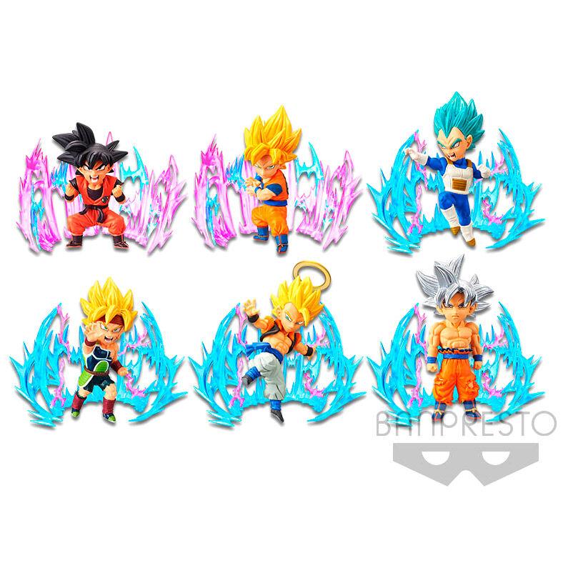 Figura World Collectable Plus Effect Dragon Ball Super 7cm surtido 4983164161526