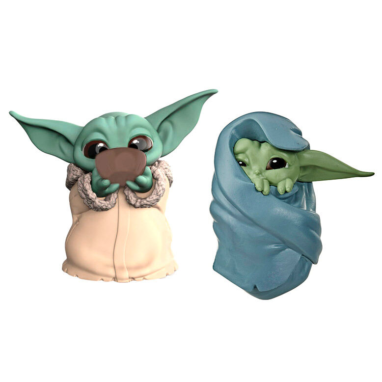 Pack 2 figuras Yoda The Child Mandalorian Star Wars 05010993762576