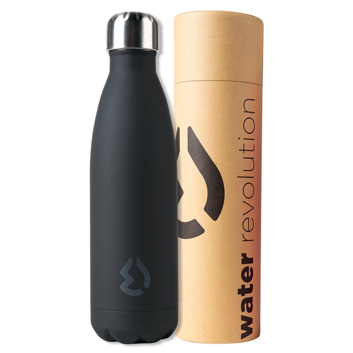 Botella Negro Water Revolution 500ml 8435607600193