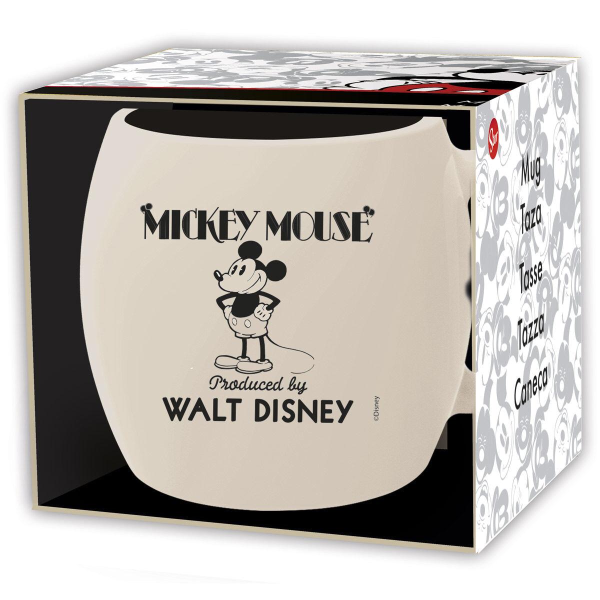 Taza Mickey 90 Disney 385ml 8412497002481