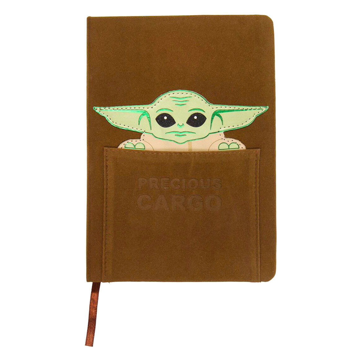 Cuaderno A5 polipiel Yoda Child The Mandalorian Star Wars