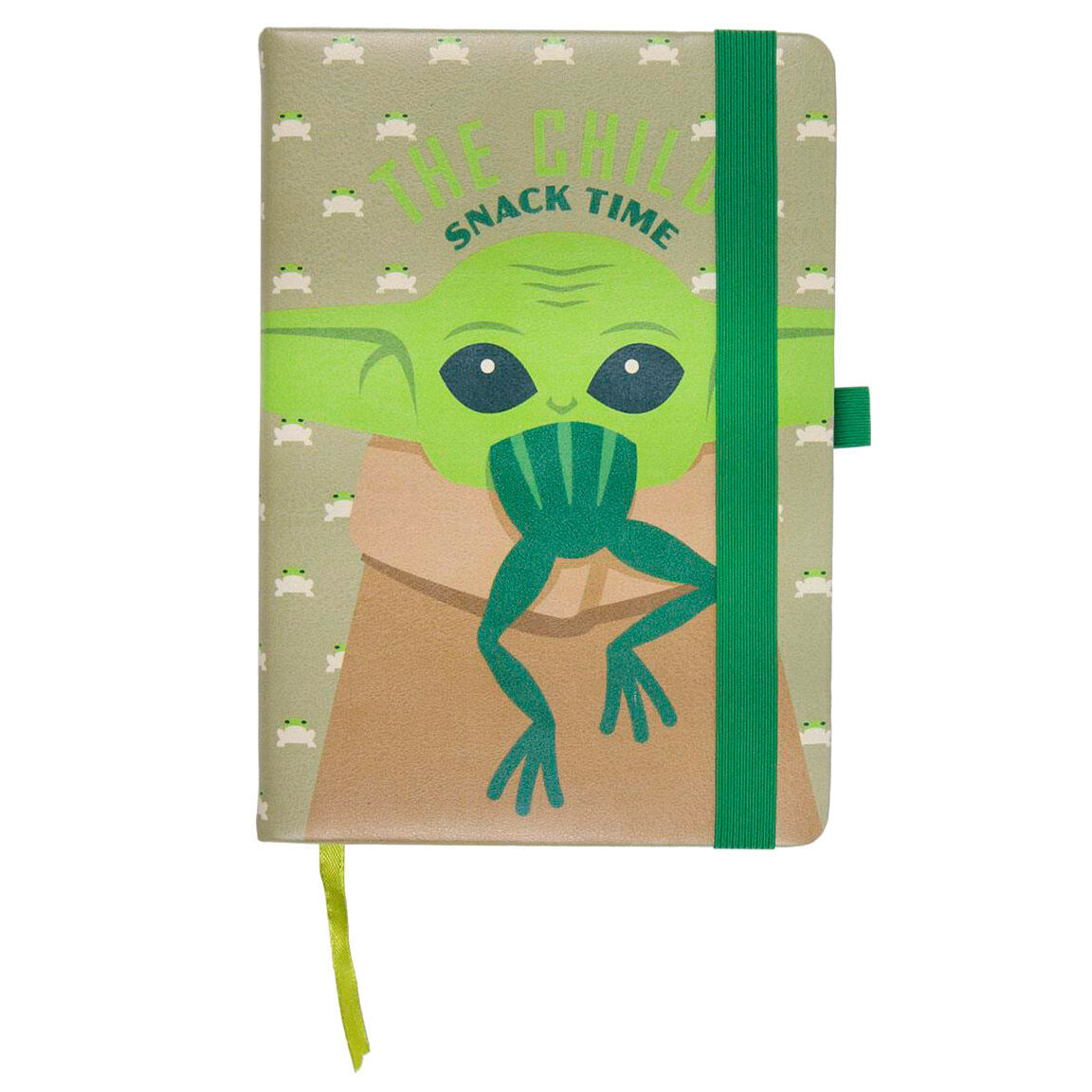 Cuaderno A5 polipiel Yoda Child The Mandalorian Star Wars
