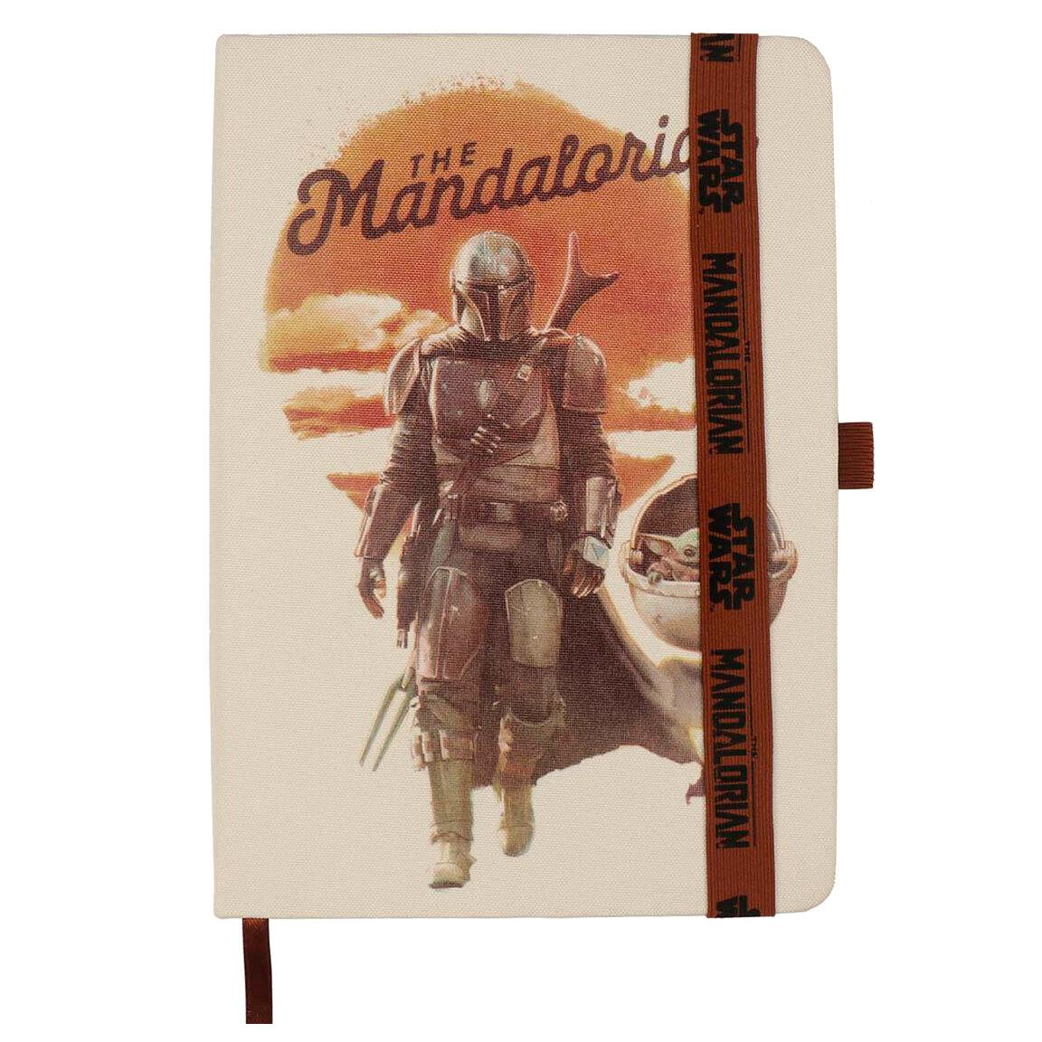 Cuaderno A5 The Mandalorian Star Wars 8427934487493