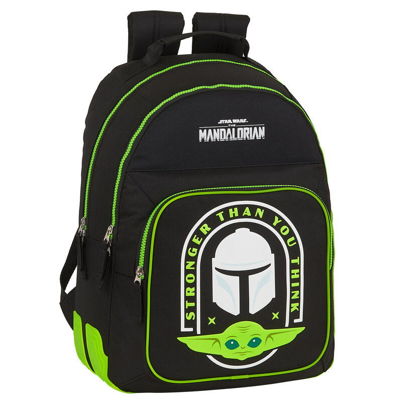 Mochila Baby Yoda (The Child) The Mandalorian Star Wars adaptable a carro 42cm
