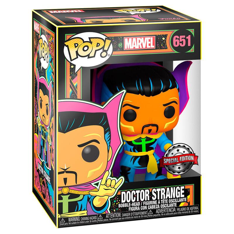 Funko POP o Figura POP Marvel Black Light Dr. Strange (1)