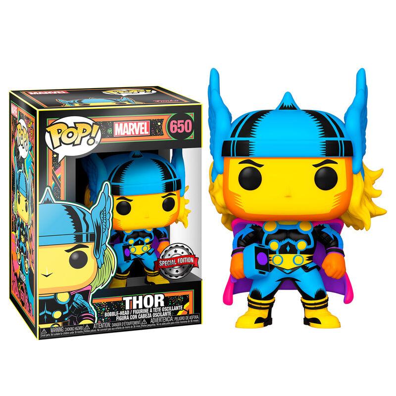Funko POP o Figura POP Marvel Black Light Thor