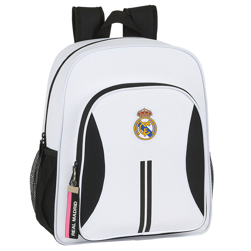 Mochila Real Madrid adaptable a carro 38cm